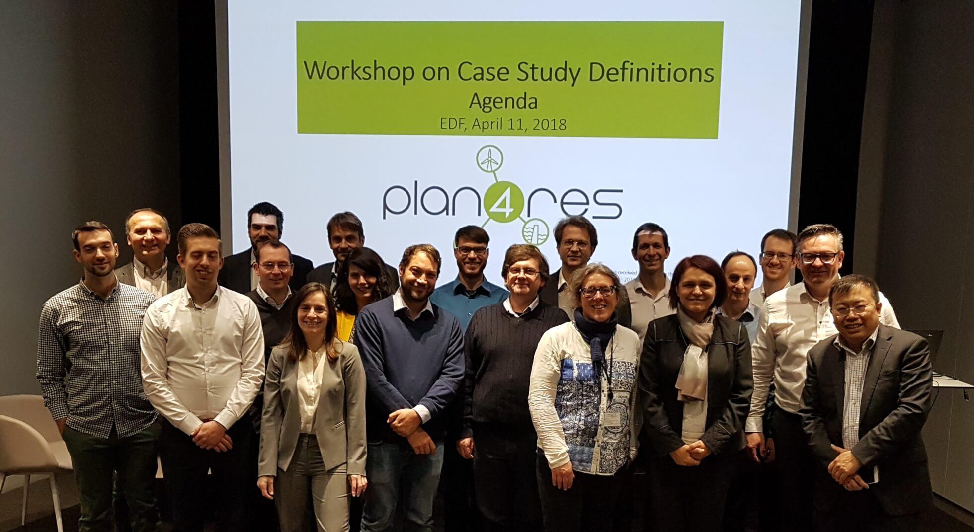Plan4res Stakeholders Workshop – April 11, 2018