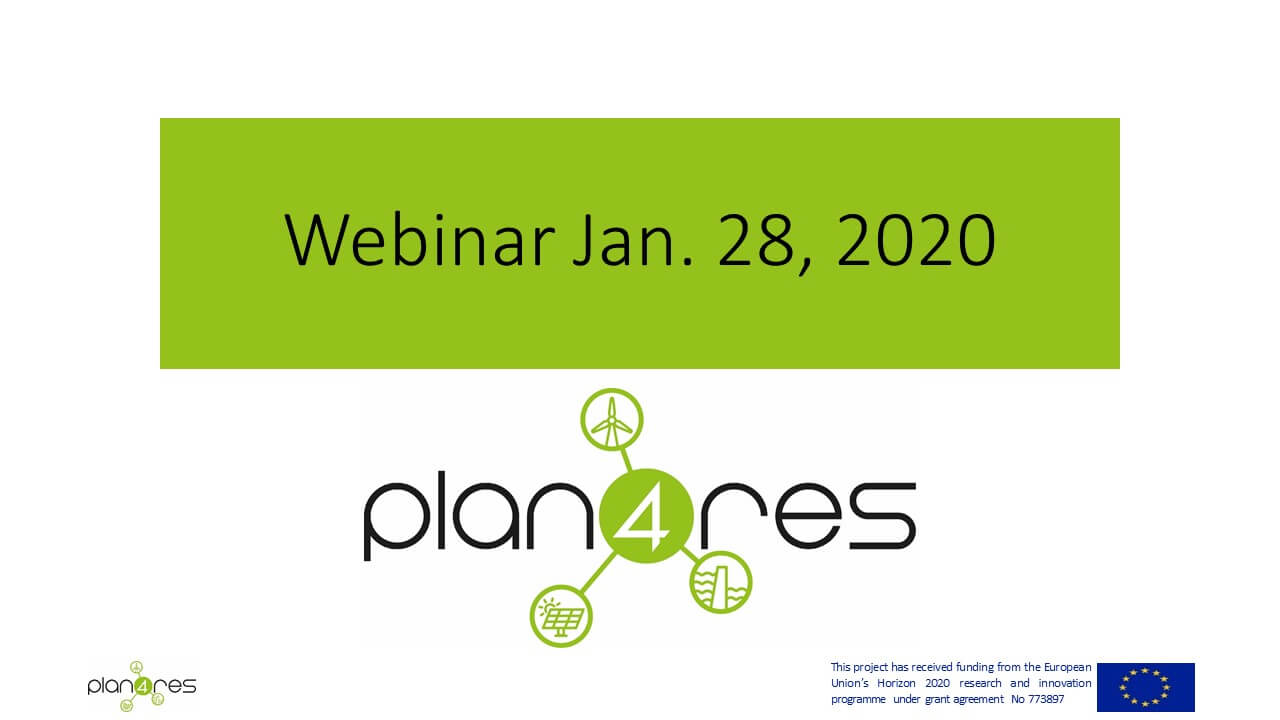 Project Results Presented In A Public Webinar
